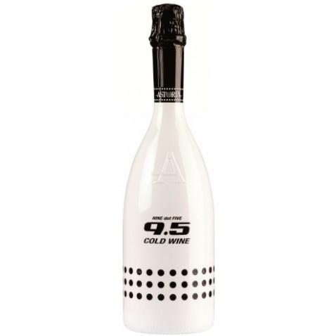 9,5 cold wine brut - šumivé víno so zníženým obsahom alkoholu