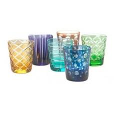 Farebné poháre na vodu