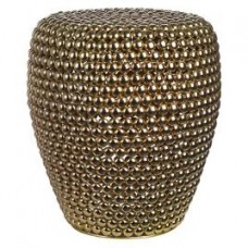 Guličkový stolček zlatý