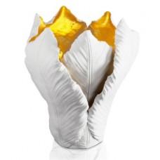 Svietnik Tulip biely